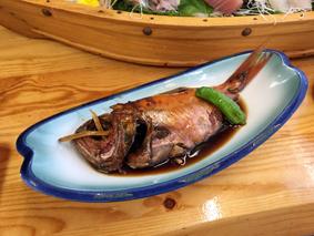 金目鯛煮つけ